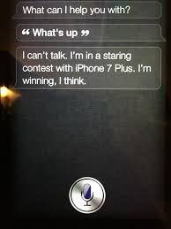 Funny] iPhone 4s iOS 6 Siri refers to iPhone 7 iphone