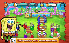 spongebob diner dash android apps on google play
