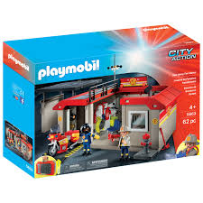 Playmobil City Action: Take Along Fire Station - 62 Pieces (5663 ... 774pcs Legoing City Fire Station Building Blocks Helicopter Ladder Unit With Lights And Sound 5362 Playmobil Canada Playmobil Child Toy 5337 Action Airport Engine With 4819 Amazoncouk Toys Games 4500 Rescue Walmartcom 5398 Quad Tarland Shop Buy Truck 9466 Incl Shipping 9052 Super Set 08634313671 Ebay 077sch Klickypedia