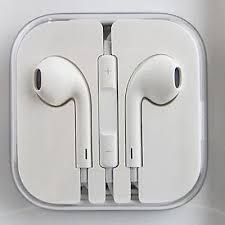 APPLE IPHONE 6 6 PLUS 5 5s ORIGINAL HANDSFREE EARPHONE WITH REMOTE