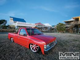 1991 Nissan Hardbody - Custom Nissan Trucks - Mini Truckin' Magazine