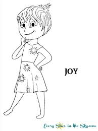 Free Inside Out Joy Coloring Page