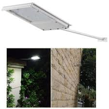 fami waterproof solar powered led light wall light