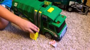 Toy Garbage Truck In Action (Side Loader) - YouTube Seattle Garbage Truck In Action Youtube Fast Lane Pump Toysrus Garbage Truck In Action Wvol Friction Powered Diecast Display Model Kids Every Drivers Dream 4x4 Man Day Trucks Bwp Ad Agency Utah Advertising Videos For Children Big From The Compact Diamondback To Megasized Mammoth New Way Rc206 Waste Management Inc Toys