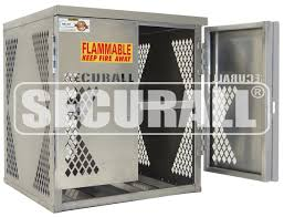 Flammable Cabinets Osha Regulations by Securall Cylinder U0026 Tank Storage Cabinets Propane Gas Cylinder