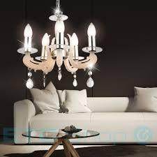 kronleuchter chrom hänge pendel beleuchtung ess zimmer