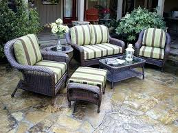 White Resin Wicker Outdoor Patio Furniture Set All Weather S 4