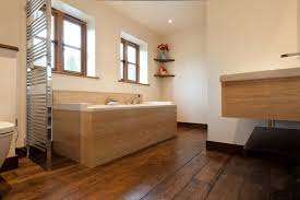 Fabulous Wood Floor Bathroom Ideas With Floors In Wb Designs