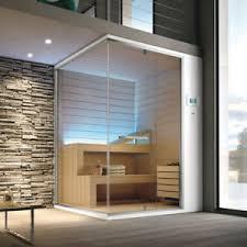 details zu design badezimmer sauna aus italien 200 x 150 x 215 cm glas aluminium abachi