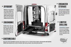 DECKED® - Cargo Van Storage System