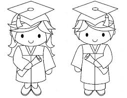 Fresh Graduation Coloring Pages 38 On Free Kids With
