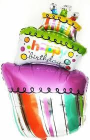 kein helium ballon torte folienballons geschenk geburtstags kuchen