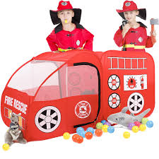 SpringBuds Fire Truck Kids Play Tent, Indoor Outdoor Pop Up Play ... A Play Tent Playtime Fun Fire Truck Firefighter Amazoncom Whoo Toys Large Red Engine Popup Disney Cars Mack Kidactive Redyellow Friction Power Fighter Rescue Toy 56 In Delta Kite Premier Kites Designs Popup Kids Pretend Playhouse Bestchoiceproducts Rakuten Best Choice Products Surprises Chase Police Car Paw Patrol Review Marshall Pacific Tents House Free Shipping Mateo Christmas Fire Truck For Kids Power Wheels Ride On Youtube