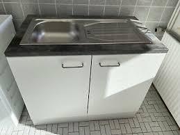 eldoradomöbel küchenschrank 3009 blau küchenmöbel