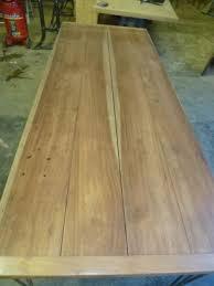 table cuisine bois exotique table de cuisine pieds épingle bois exotique robin sicle