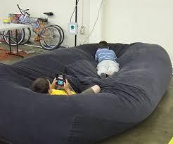 Lovesac Sofa Knock Off by Bean Bag Sofa Bed Diy Bean Bag Pinterest Bean Bags Bean
