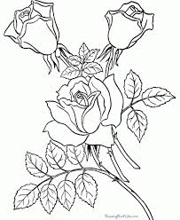 Kids Coloring Free Pages Flowers New At Flower