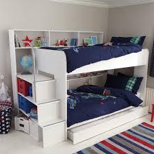 Wooden Loft Bed Design by Bedroom Wooden Loft Bunk Bed Kids Desk Storage Decofurnish Cool