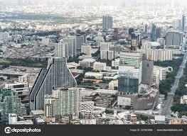 100 Homes In Bangkok Thailand Nov 2018 Cityscape Aerial Top View Tall