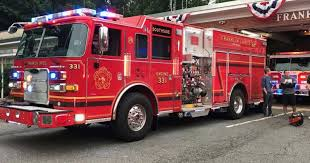 100 New Fire Trucks Franklin Lakes To Unveil Two New Fire Trucks