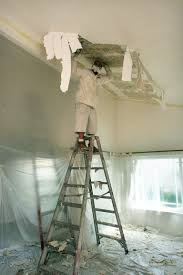 how to remove popcorn ceiling a diy guide architectural digest
