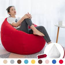 NESLOTH 100*120cm Soft Bean Bag Chairs Couch Sofa Cover Indoor Lazy Sofa  For Adults Top 10 Bean Bag Chairs For Adults Of 2019 Video Review 2pc Chair Cover Without Filling Beanbag For Adult Kids 30x35 01 Jaxx Nimbus Spandex Adultsfniture Rec Family Rooms And More Large Hot Pink 315x354 Couch Sofa Only Indoor Lazy Lounger No Filler Details About Footrest Ebay Uk Waterproof Inoutdoor Gamer Seat Sizes Comfybean Organic Cotton Oversized Solid Mint Green 8 In True Nesloth 100120cm Soft Pros Cons Cool Desain