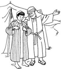 Plush Design Story Of Joseph Coloring Pages And His Brothers