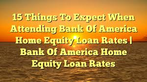 15 Things To Expect When Attending Bank