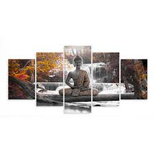 Canvas Print Modern Picture Wall Art Decor Home Buddha Zen Landscape