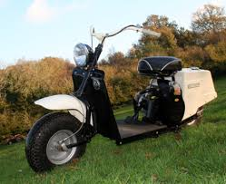 The First Highlander Was Introduced By Cushman In 1949 As A Low Cost Basic Machine To Get Kids Into Scooter Market Model Sold For 18750