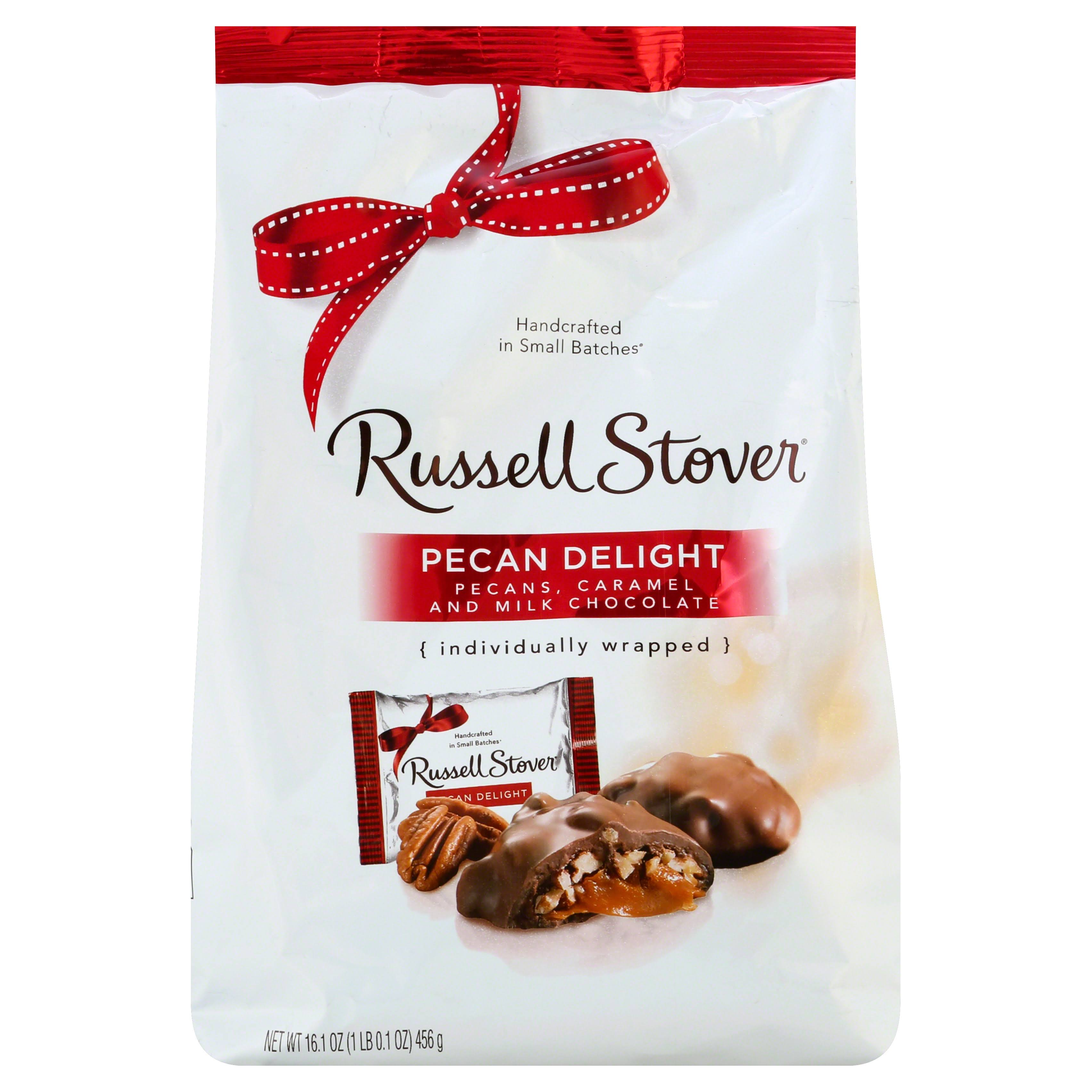 Russell Stover Pecan Delight Gusset Bag
