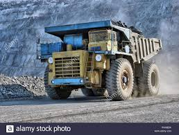 100 Truck It Transport The Big Truck Transport Iron Ore In Career Stock Photo 217553327