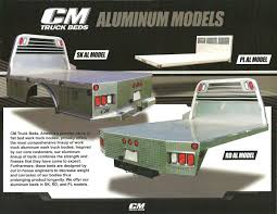 CM TRUCK BEDS - Car-Tex Trailers