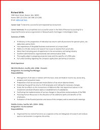 Inspirational Accountant Resume Sample Pdf Mailing Format How To Write Accounting Fresh Free Tax Template Ms