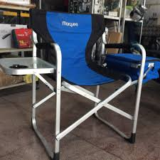 Marquee Aluminium Directors Chair With Table And Cooler ...