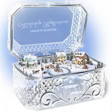 Thomas Kinkade Christmas Tree Wonderland Express by Amazon Com Thomas Kinkade Holiday Reflections Crystal Box