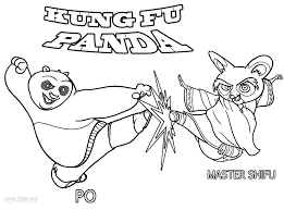 Coloring Pages Kung Fu Panda Free Online Printable Sheets For Kids Get The Latest Images