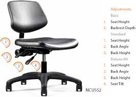 Neutral Posture Chair Amazon by Neutral Posture Graphite Urethane Lab Healthcare Task Chair