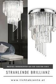 ideal kristall luster carlton ø 50cm len wohnzimmer