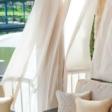 unique curtains sunbrella outdoor curtains pottery barn