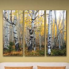 Aspen Sunrise Triptych Personalized Wall Art