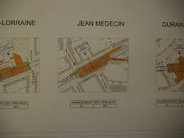 bureau de change jean medecin les travaux ligne t2 du tramway niçois en surface et en souterrain