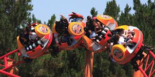 Knotts Berry Farm Halloween Camp Spooky by Sierra Sidewinder Spinning U0026 Twisting Roller Coaster Knott U0027s