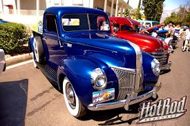 Pretty Blue 1941 Ford Pickup Truck – Hotrod Resource