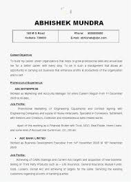Senior Management Resume Templates New Account Manager Sample Marketing Simple