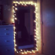 Broadway Lighted Vanity Makeup Desk 2010 by Put Simple White Christmas Lights Around My Mirror Gives It A