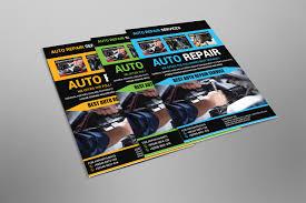 100 Auto Re Pair Flyer Design