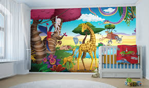 chambre bebe jungle déco murale pour chambre de bébé thème la jungle clikétoile