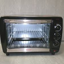 Sharp 220 Volt Large 35L Toaster Oven NOT FOR USA For Asia Europe Africa