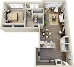 best 25 apartment floor plans ideas on 2 bedroom